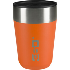 360° degrees Vacuum Travel Mug Regular 355ml, orange